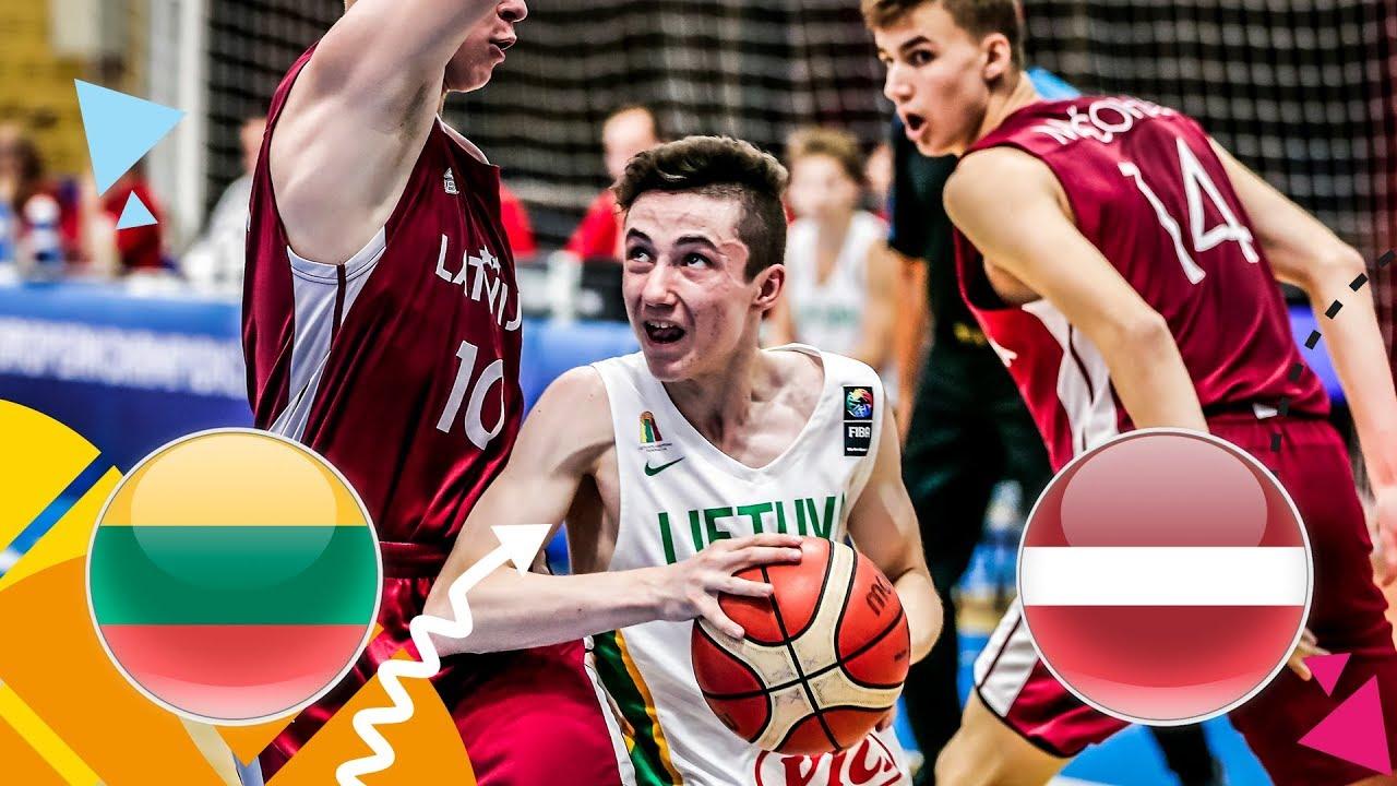 Re-watch Lithuania v Latvia