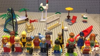 LEGO City 60153 People pack - Fun at the beach Review!