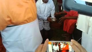 Bhoomi Pooja for Sri Ram Parivar Temple.