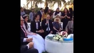 شاهد| عقد قران محمد محسن وهبة مجدي.. الفخراني يمنعهما من «شهر العسل»