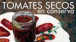La conserva de tomates secos es de las más fáciles de hacer. En este caso además, todo para que envases al vacío en un frasco esterilizado. Encontrá el paso ...