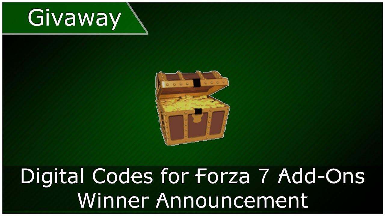 Xbox OneGuide: WINNER: Forza 7 Add-On Giveaway Winner