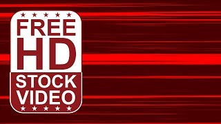 Free Stock Videos – abstract red lines 2D animation