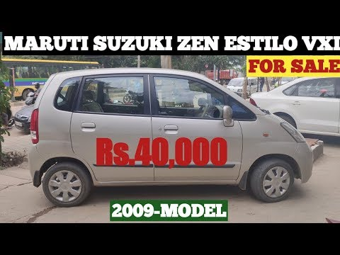 MARUTI ZEN ESTILO VXI FOR SALE Rs.40,000 ONLY | HAVE A LOOK CAR CONDITION BEFORE YOU BUYING