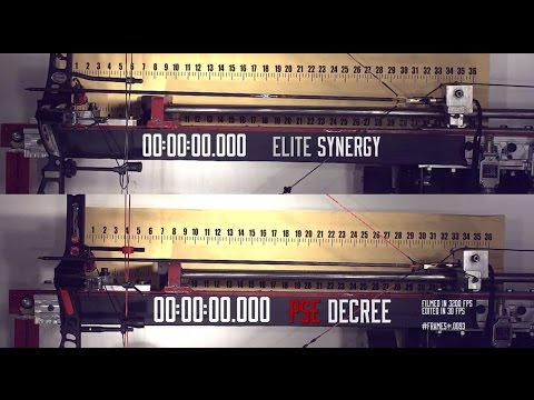 f752cdc4d48 Bow Launch Time - PSE Dream Season Decree and Elite Synergy (Experience  Performance Video #1)