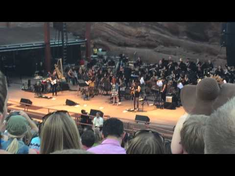 The Chain - Ingrid Michaelson and the Colorado Symphony Orchestra - Red Rocks