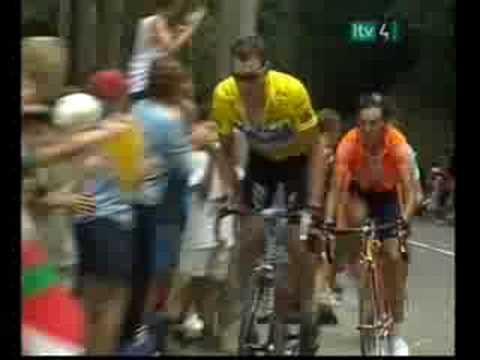Tour de France-Lance Armstrong's Crash & Recovery