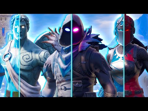 THE FROZEN LEGENDS COME TO LIFE - Fortnite Short Film