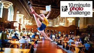 10 Minute Photo Challenge BUSTED in NY Public Library