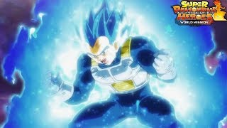 VEGETA STEALS THE SHOW ONLINE BATTLES | SUPER DRAGON BALL HEROES WORLD MISSION
