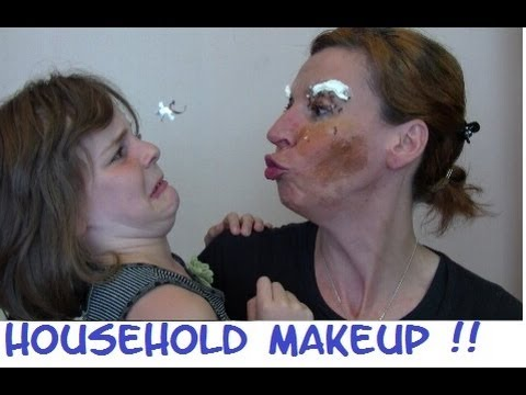 The Household Makeup Challenge ... à la belge ^^