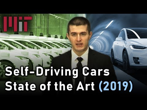 MIT Self-Driving Cars: State of the Art (2019)
