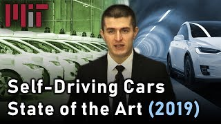 MIT SelfDriving Cars: State of the Art (2019)