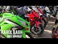 Best Bike Market In Delhi   Cheap Price Second Hand Bikes   Karol Bagh (KTM, Bajaj, Ninja)