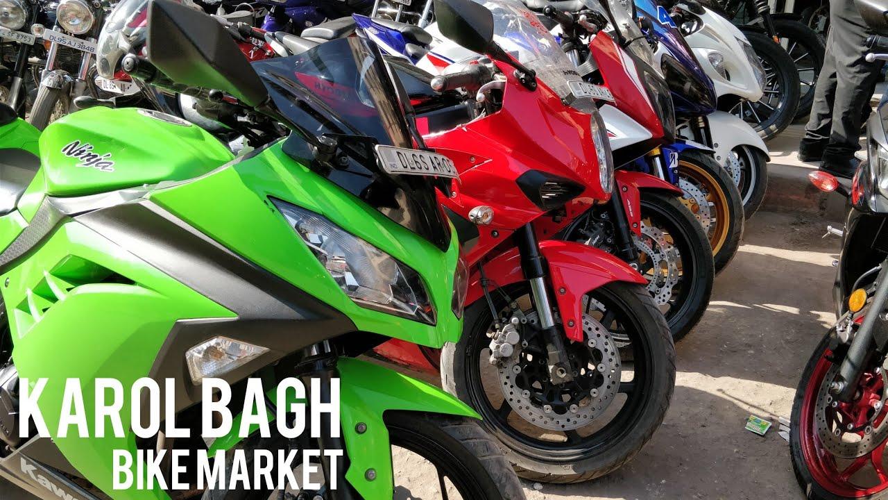 Best Bike Market In Delhi Cheap Price Second Hand Bikes Karol