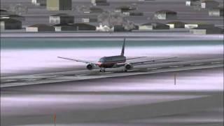 American Airlines Flight to Tokyo Haneda  (FS2004)