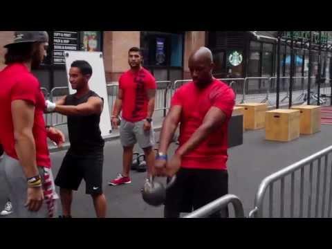 Summer Streets NYC Reebok  Crossfit W.O.D. Dre Works!