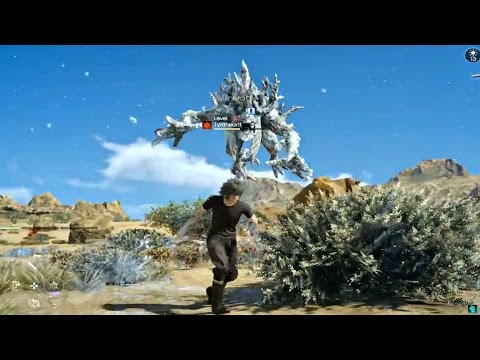 FINAL FANTASY XV - Level 130 4 Tyraneants Time Quest Gameplay! PS4 Pro (1080P 60FPS)