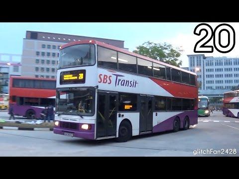 [SBST] (Retired) SBS9631X On Service 20 - Volvo Olympian Batch Three