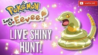 GREEN SNEK   Pokémon Let's Go EEVEE! Live Shiny HUNT!