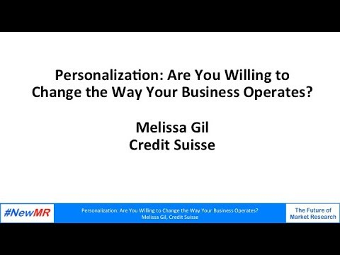 Personalization: Are You Willing to Change the Way Your Business Operates?