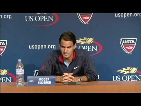 2012 US Open Press Conferences: Roger Federer (Pre-Event)