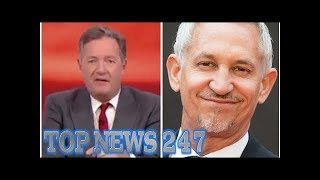 Piers Morgan SAVAGES Gary Lineker for
