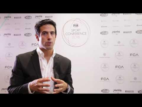 2016 FIA Sport Conference - Lucas di Grassi Interview