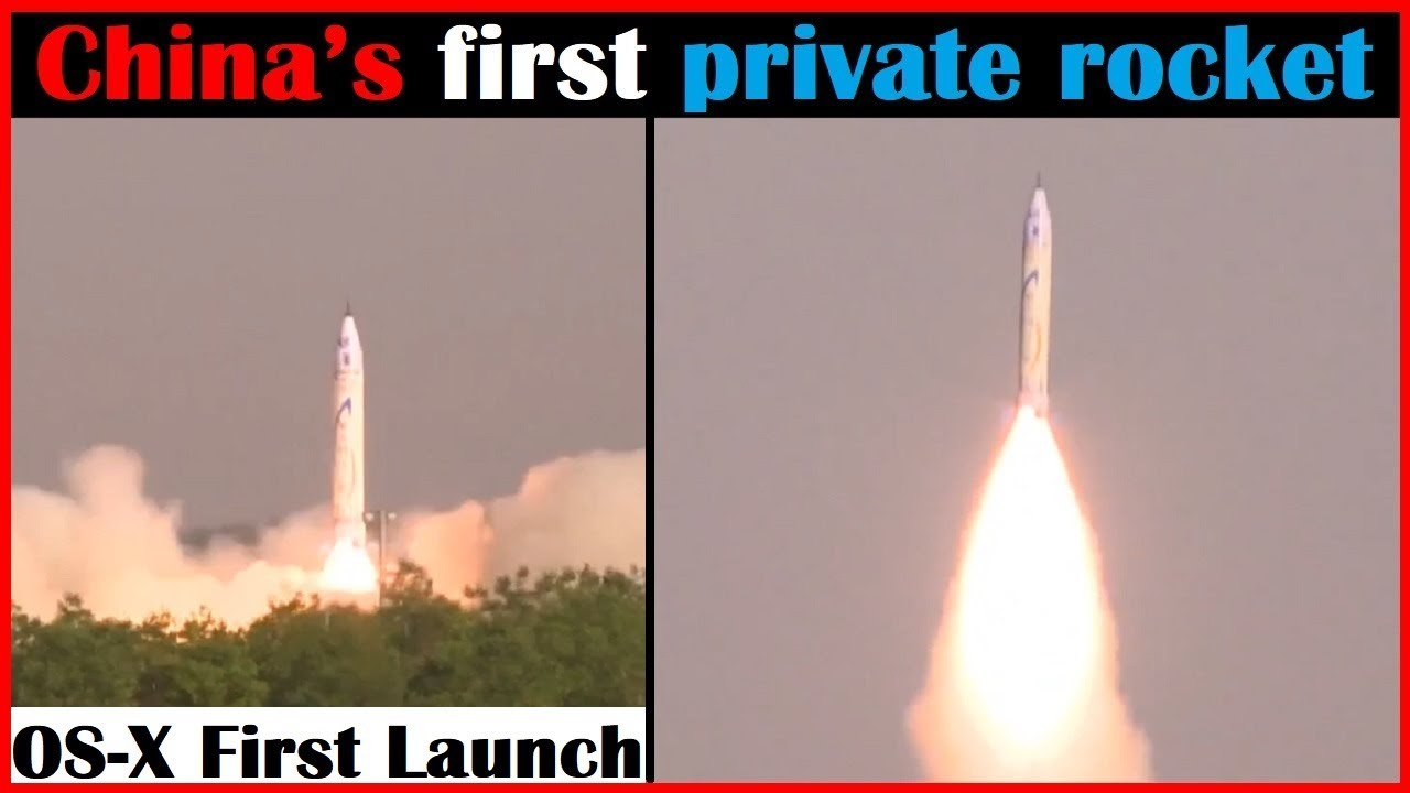 The first launch of the new Chinese rocket carrier Changzheng-7quot from the new Wenchang cosmodrome 55