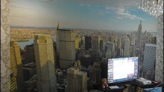 Фотообои Нью Йорк утро 4 на 2 75 отзыв обзор минусы плюсы