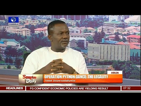 Military Operation In South East Long Overdue - Emmanuel Dibia Pt 1 | Sunrise Daily |