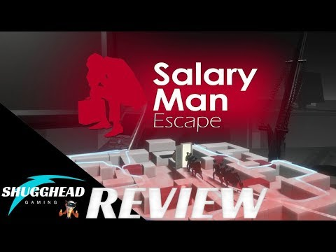 Salary Man Escape PSVR Review: Physics Based Puzzler in VR | PS4 Pro Game Play Footage