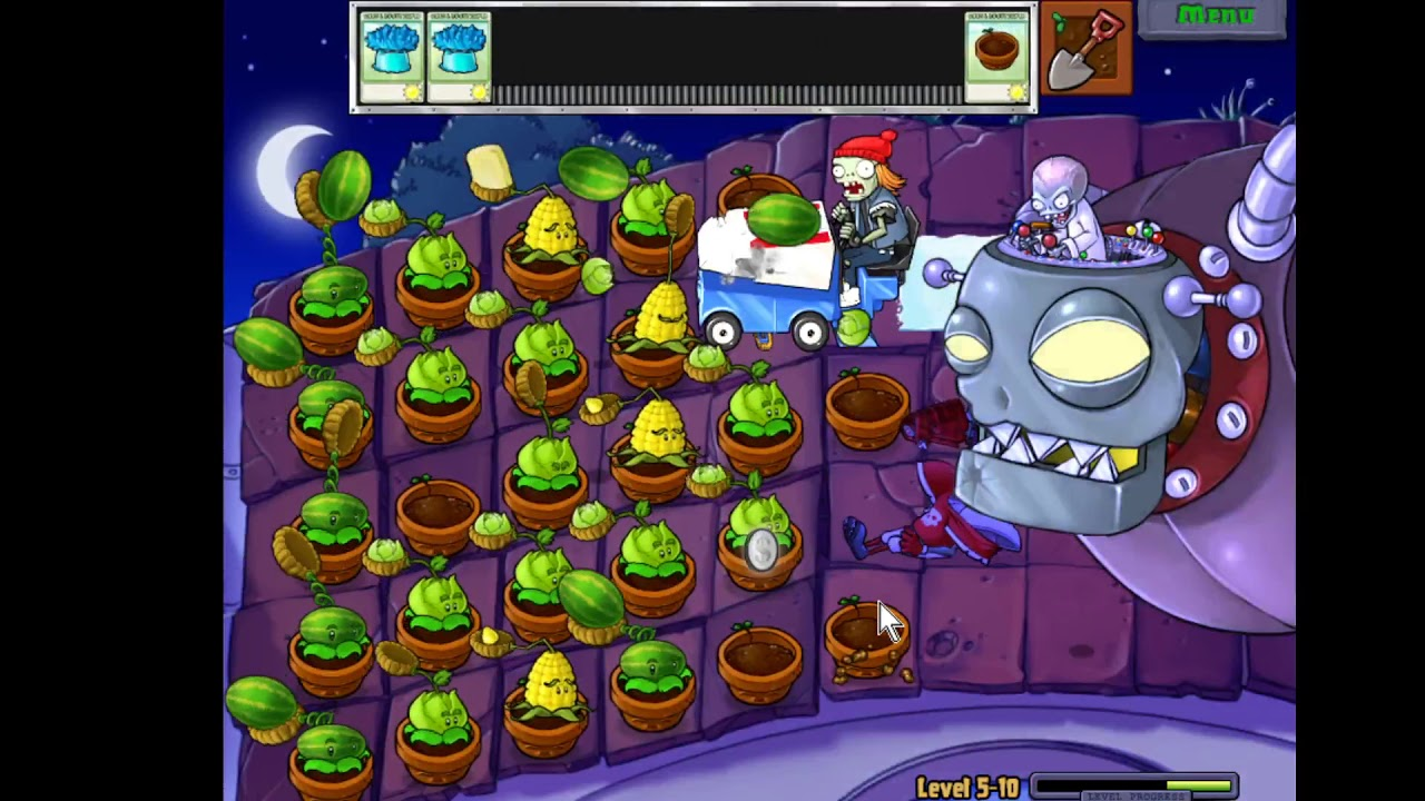 Plant vs Zombies Level 5-10