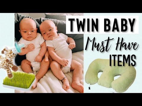 My TWIN Baby MUST HAVE Items!
