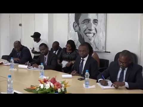 Red Flash meeting with Ministers of Gabon
