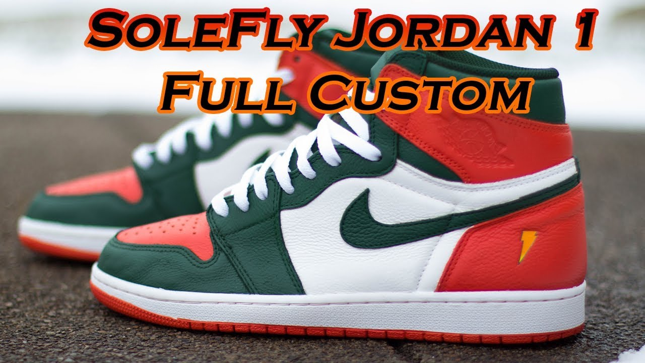 SOLEFLY Air Jordan 1 Gatorade Full