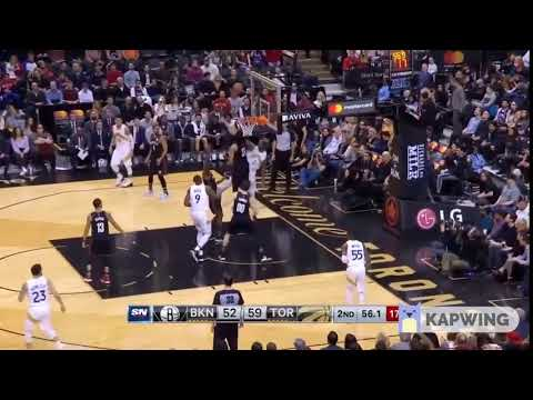 Kawhi's sensual reaction to a missed foul call