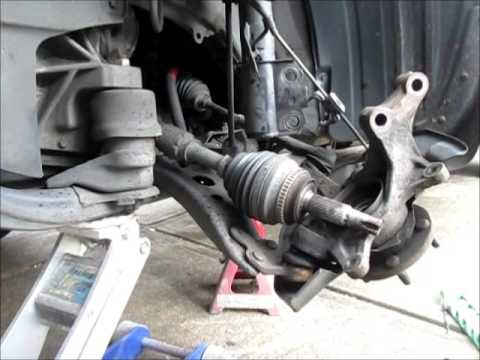 How To Replace A Toyota Cv Axle With A Pressed Bearing