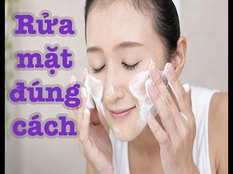 Bí quyết rửa mặt đúng cách !