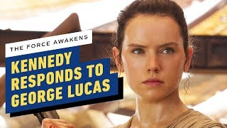 Lucasfilm President Responds to George Lucas' Disappointment of Star Wars: The Force Awakens