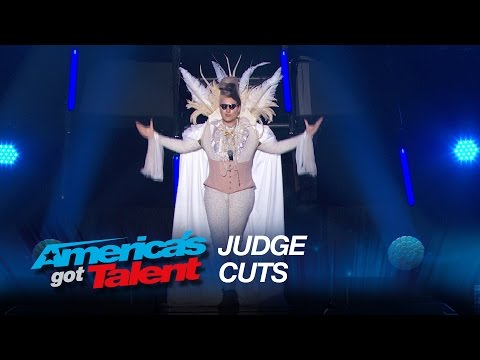 Kayvon Zand: Musician Insults Judges Panel - America's Got Talent 2015