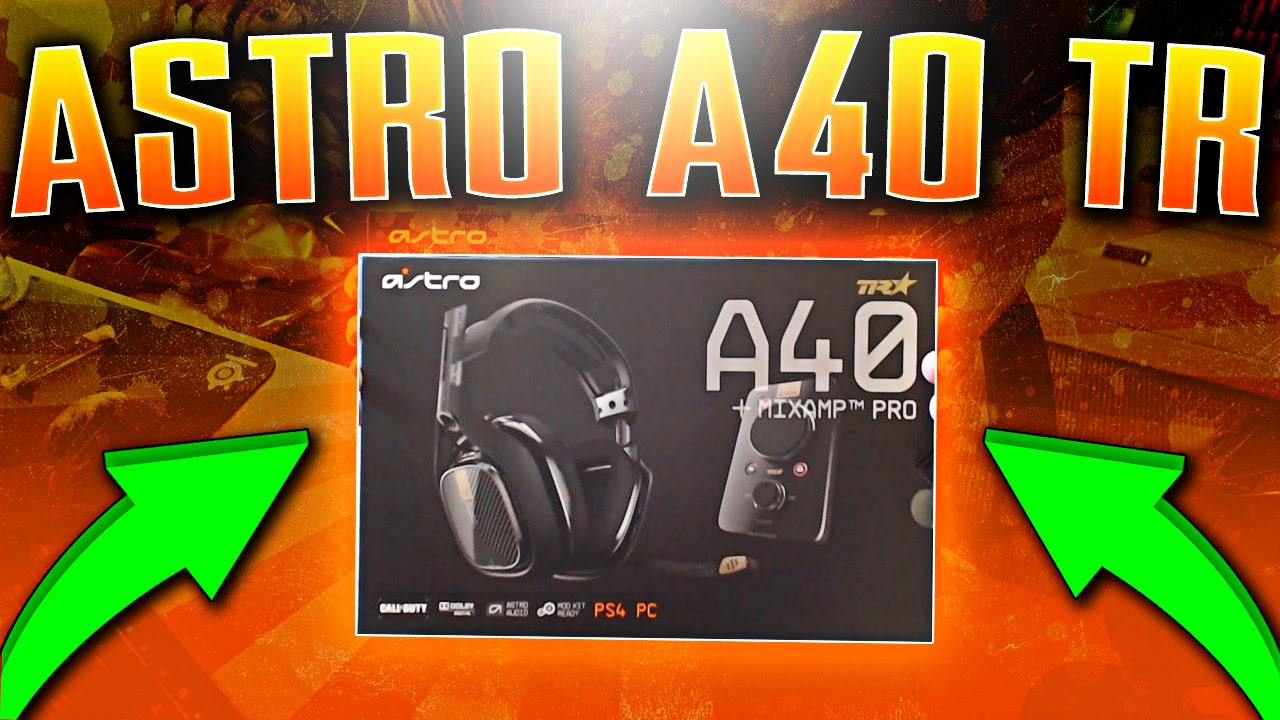 Astro A40 TR Playstation 4 Edition Unboxing and Review (Astro A40 TR