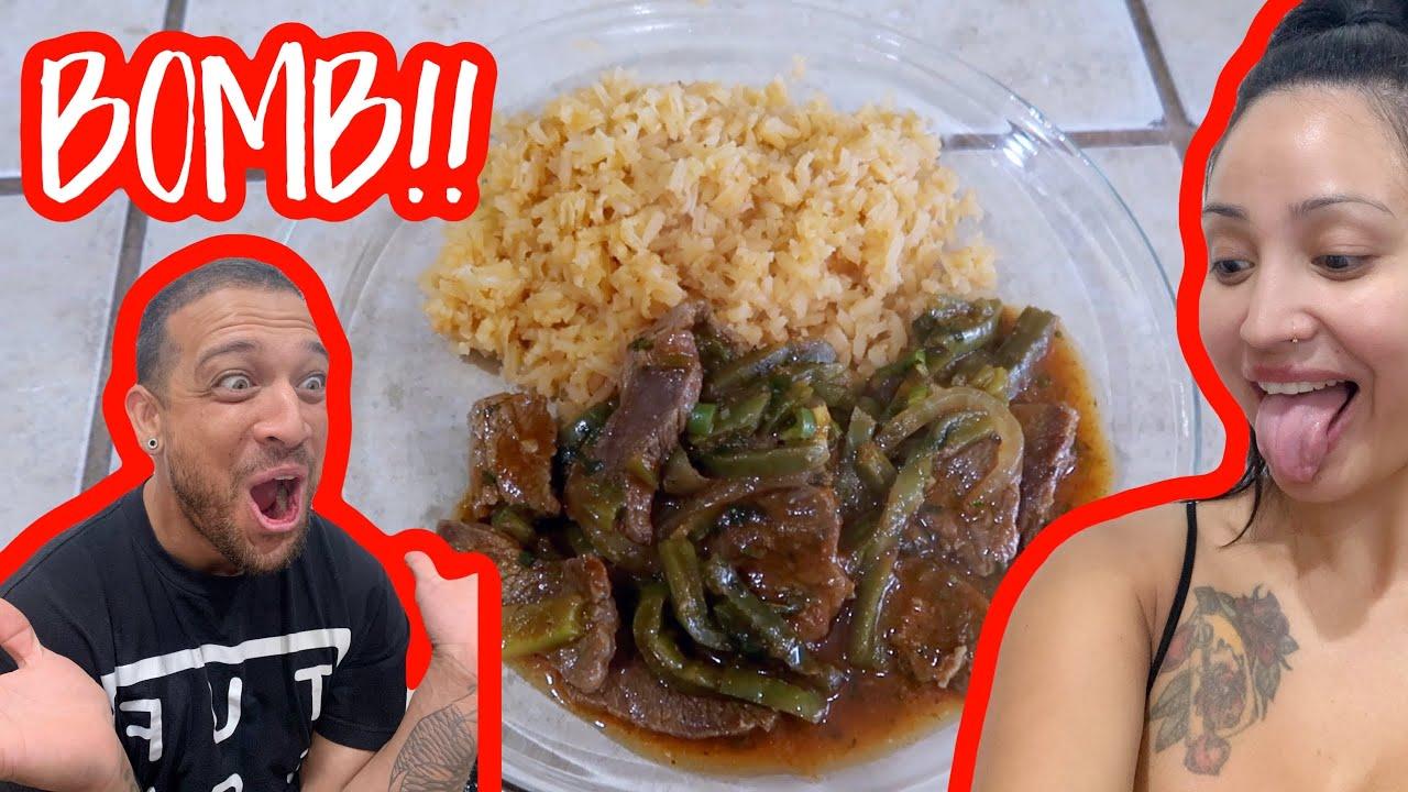 CARNE CON NOPAL!! **easy & yummy**