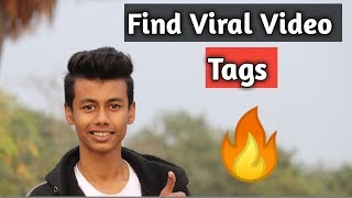 Find YouTube Viral Video Tags 🔥