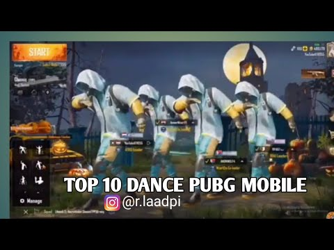TOP 10 KOMPILASI DANCE PUBGMobile | Wahhh Ada Joget HelmChallenge...!