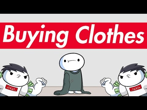 buying clothes