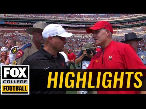 Maryland vs Texas | Highlights | FOX COLLEGE FOOTBALL