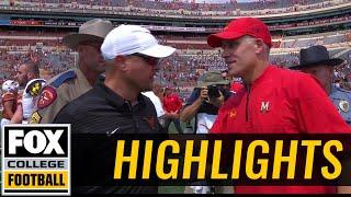 Maryland Vs Texas   Highlights   FOX COLLEGE FOOTBALL