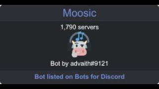 moosic bot is pretty cool