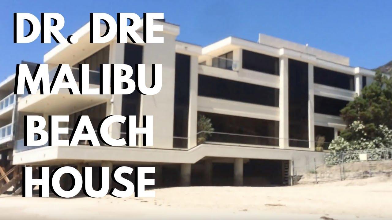 How Much Is A Beach House In Malibu Part - 35: Dr. Dreu0027s Malibu Beach House Mansion - Beats By Dre Apple Deal , LA